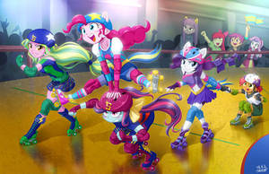 Roller Derby by uotapo