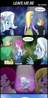 LEAVE ME BE by uotapo