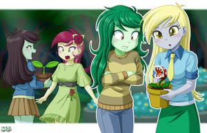 Equestrian Plants?