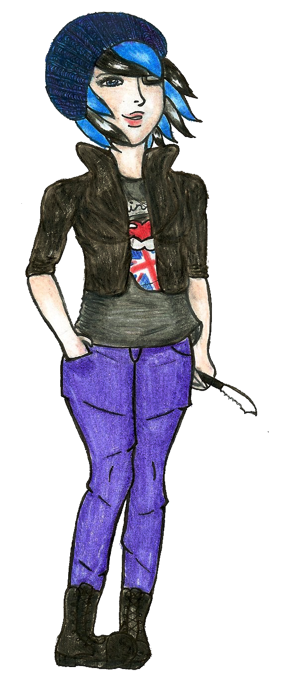 Badass British Babe by Sunnimi