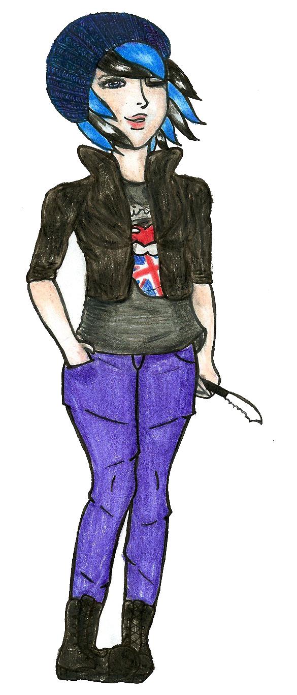 Badass British Babe by Sunnimi