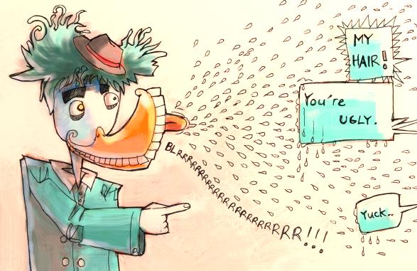 Ugly Duckling's revenge by Sekkosiki