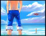 Luffy and Usopp