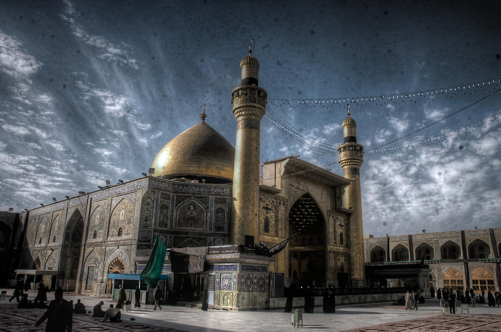 Image result for imam ali mosque wallpaper