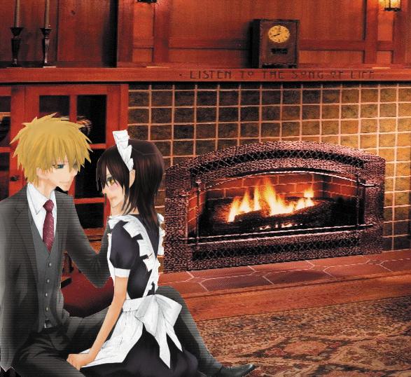 By the Fireside by La-cruciatus