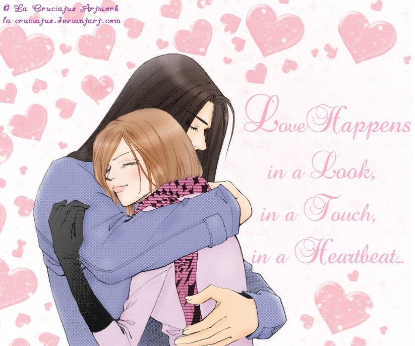 Lele and Eros~ Love Happens by La-cruciatus