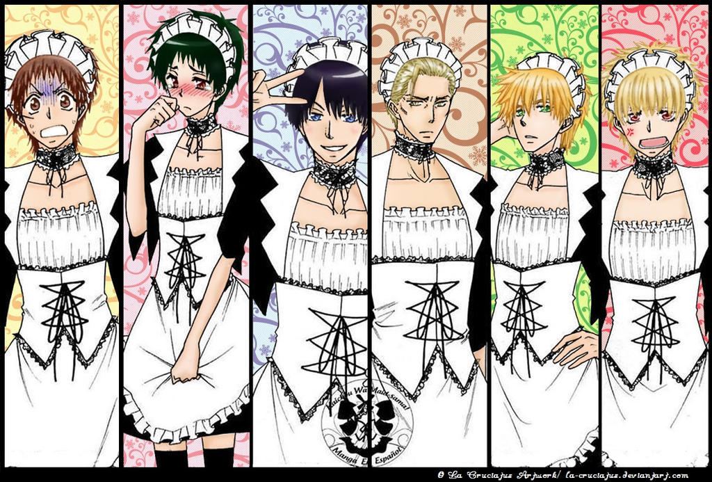 The Maid Brigade by La-cruciatus