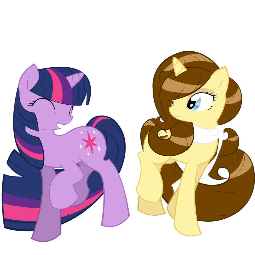 Twilight and Eclair by ParfaitPichu