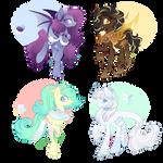 Kiriban/Raffle Custom Ponies