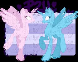 P2U My Personal Pony Bases by Piichu-Pi