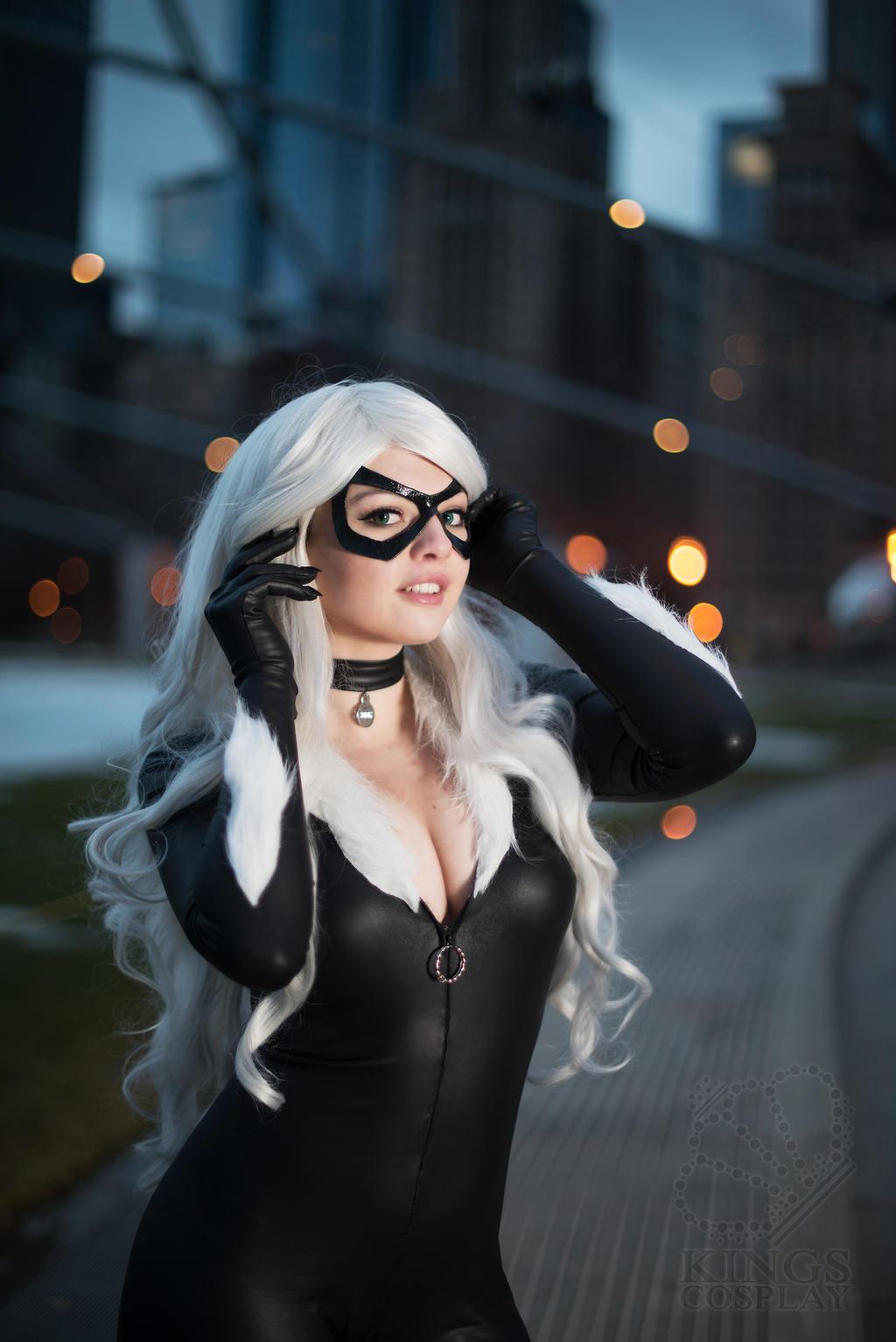 Black Cat (Felicia Hardy) by Shinigami-X