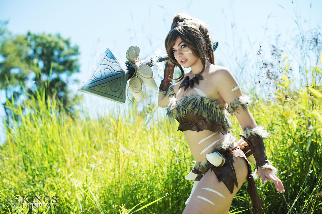 Nidalee (League of Legends) by Shinigami-X