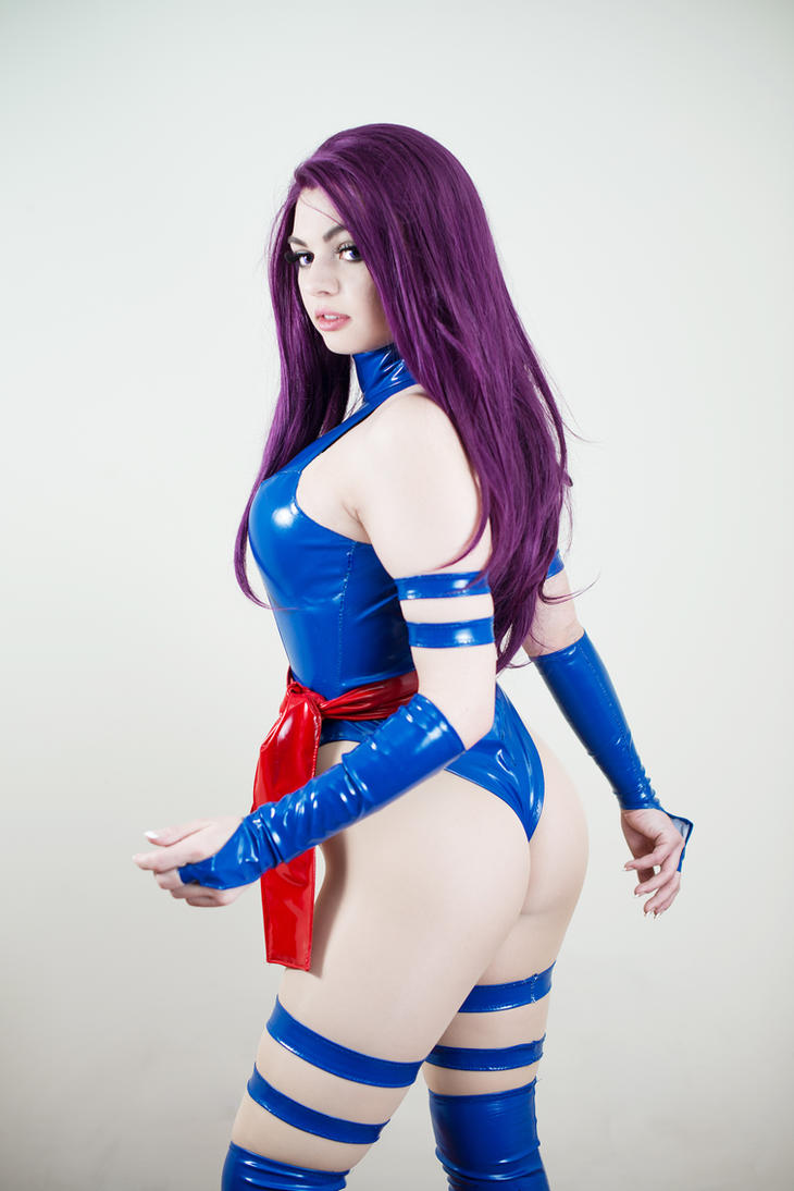 X-Men: Psylocke by Shinigami-X