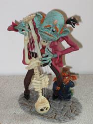 Swinging Monster by mellisea