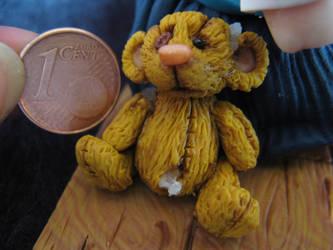 Teddybear - close up by mellisea