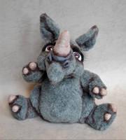 Rhino  'Bernadette' by mellisea