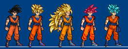 DBZS goku (UPDATE) by juansennin
