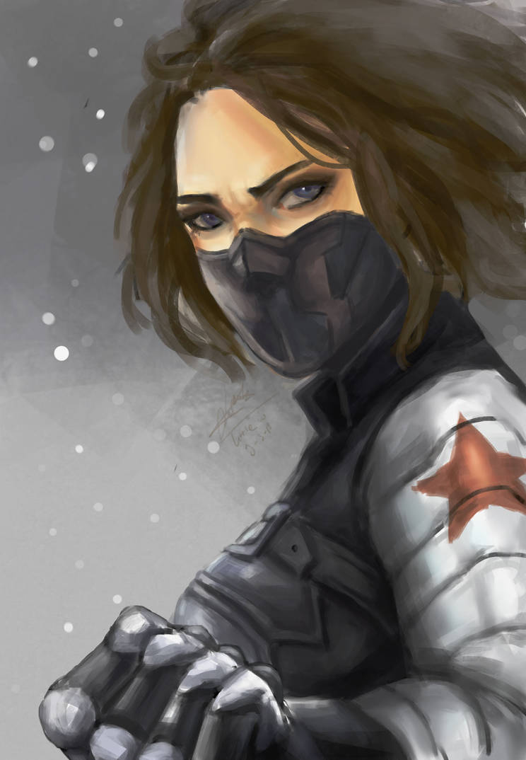 Female Bucky Barnes by NurmalitaZahra on DeviantArt