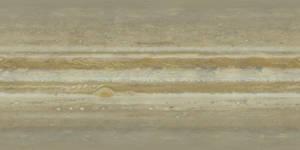 Jupiter True Color Texture Map - Cassini