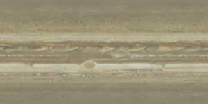 Jupiter True Color Texture Map - New Horizons