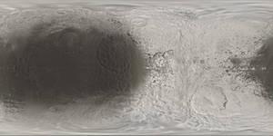 Iapetus Truecolor Texture Map 8k