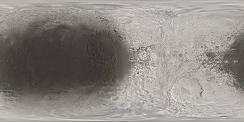 Iapetus Truecolor Texture Map 8k by FarGetaNik
