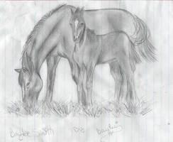 Horses by bayleebree