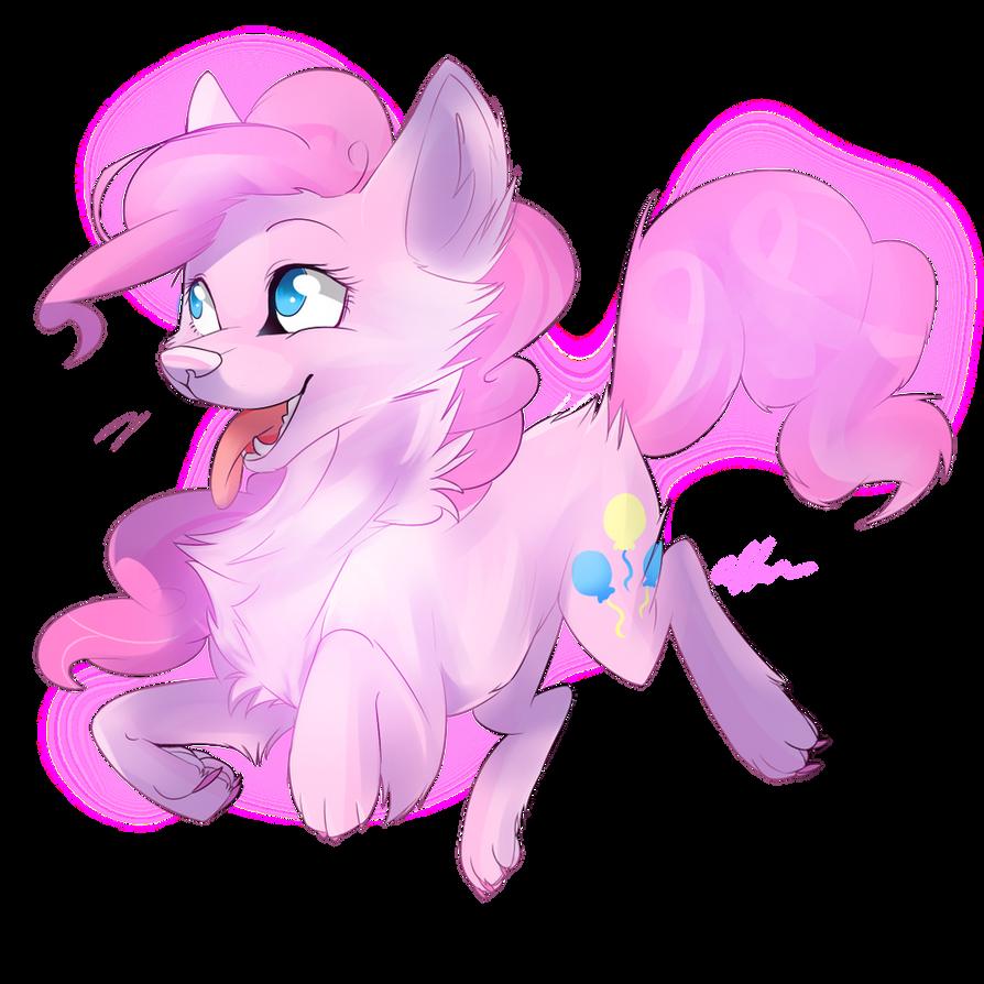 wolf Pinkie pie by Affanita