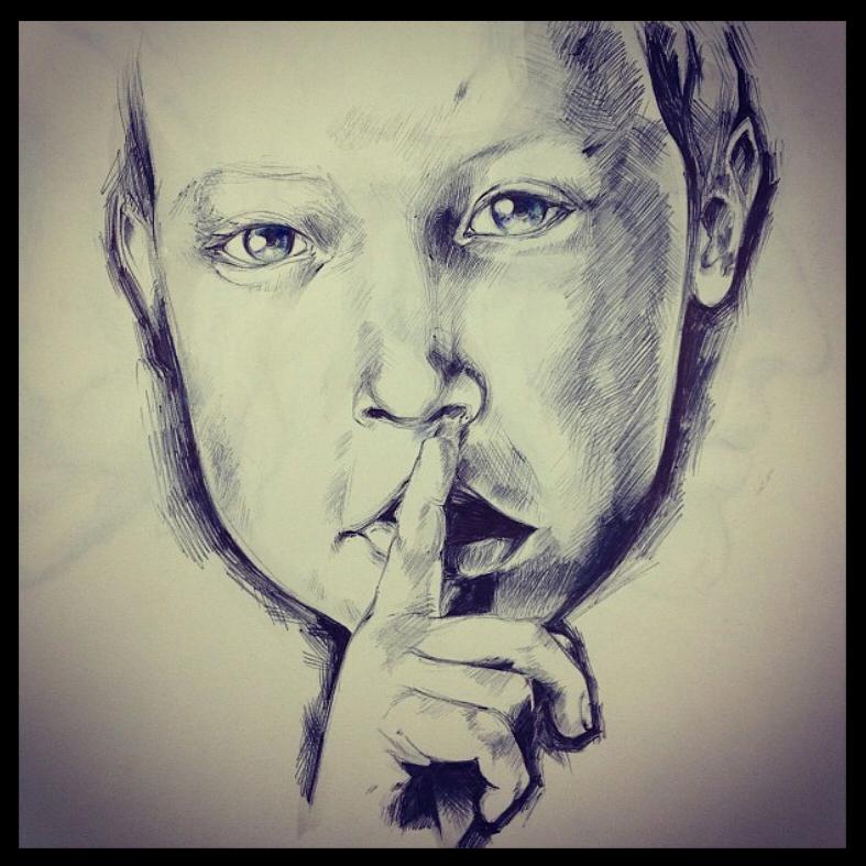 Shhh kid