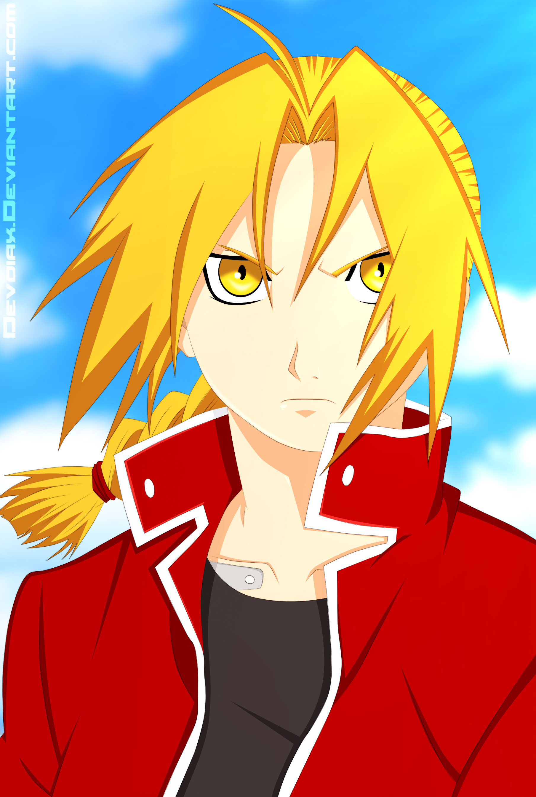 Edward Elric by Devoiax