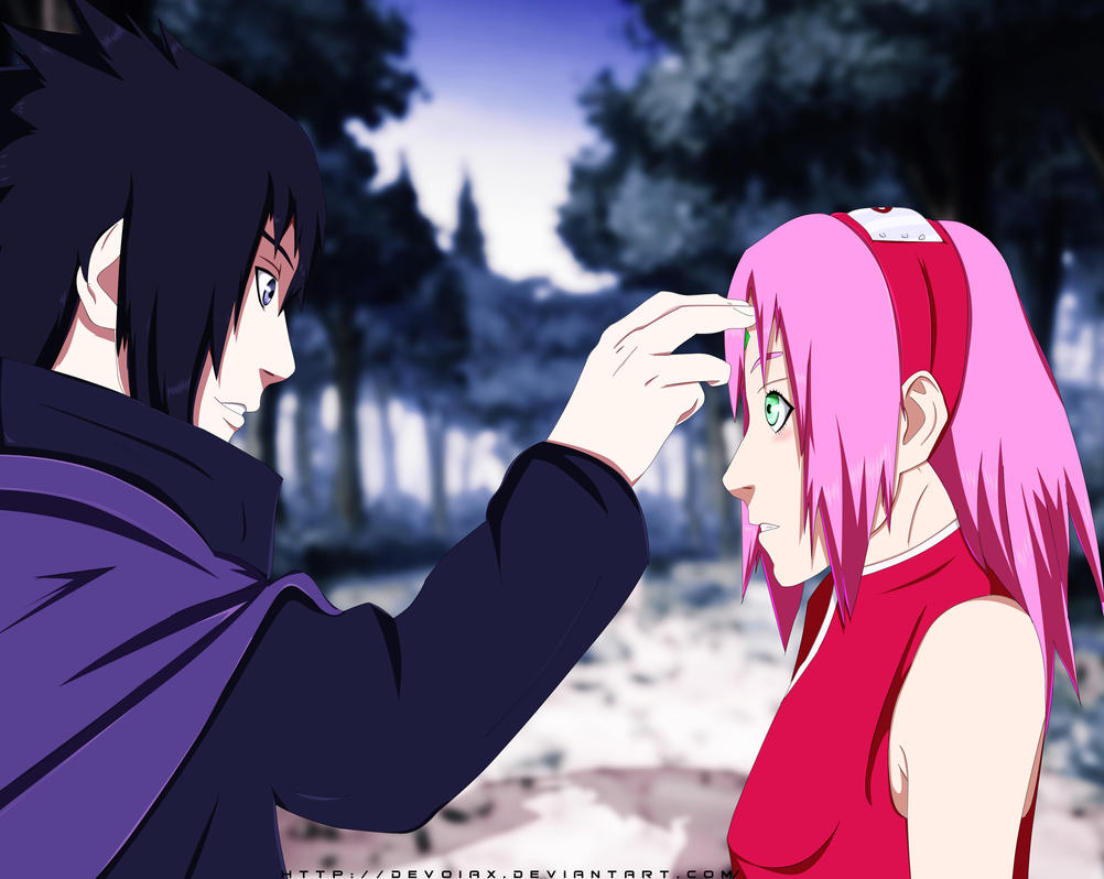 Naruto 699   I'm Sorry Sakura by Devoiax