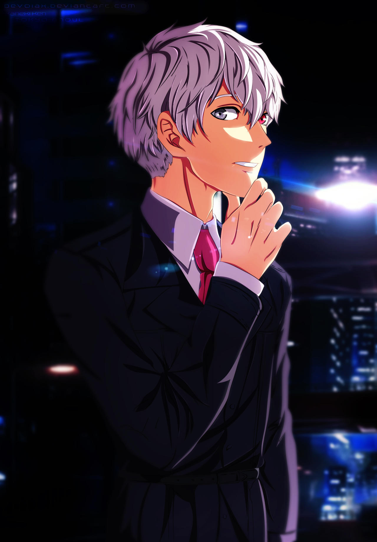 Mr. Kaneki ken by Devoiax