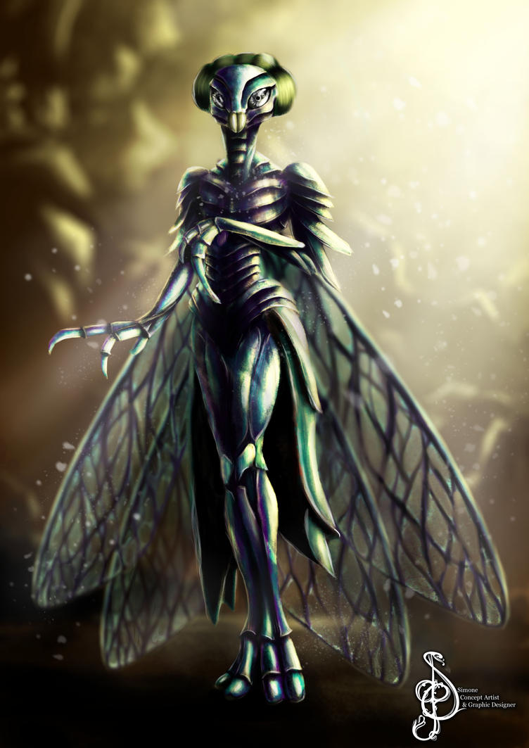 The Insectoid Queen by Celtic-balverine
