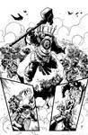 Page from Warhammer 40,000: Will of Iron vol.3