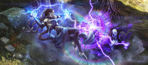 Mage Duel by Spacefriend-T