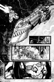 Warhammer 40,000 Fallen #1 pages
