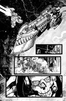 Warhammer 40,000 Fallen #1 pages by Spacefriend-T