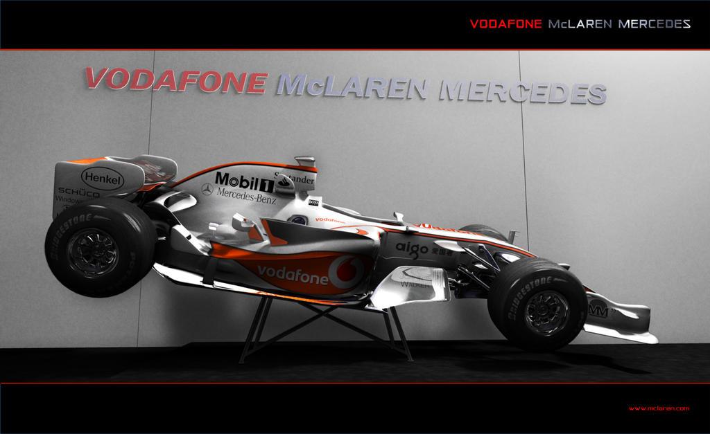 Lewis's Mclaren Mercedes by Deansta