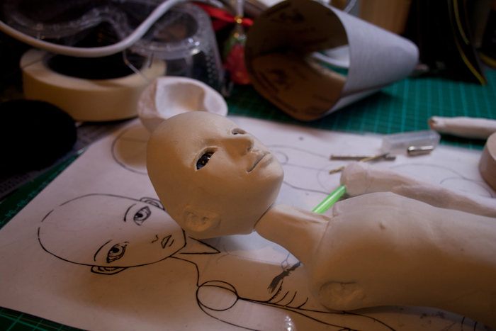 BJD Project A: Day 4 by materiae