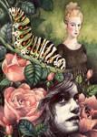 Kay,Gerda and the Caterpillar