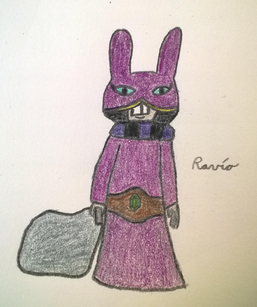 Ravio by thecrazyavatarcritic