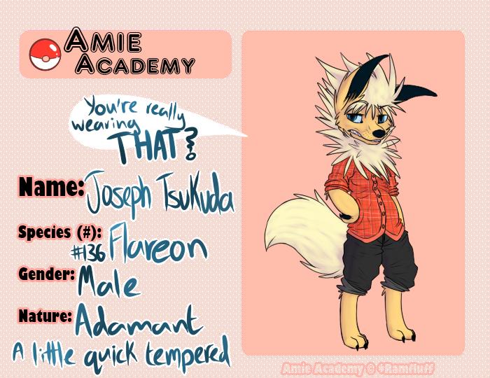 Amie Academy // Joseph Tsukuda by Closet-Furry
