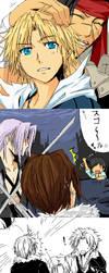 Dissidia Final Fantasy oekaki by meru-chan