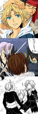 Dissidia Final Fantasy oekaki