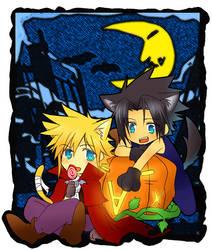 FF7- ZC Halloween by meru-chan