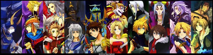 +Dissidia Final Fantasy+ by meru-chan