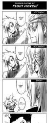 Dissidia FF- Fight Picker by meru-chan