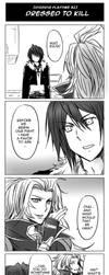 Dissidia FF- Dressed to Kill by meru-chan