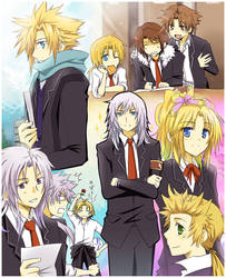 +Dissidia Academy+ by meru-chan