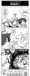 Dissidia FF- WARK by meru-chan